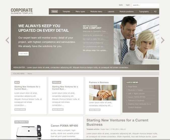 joomla_corporate_intranet