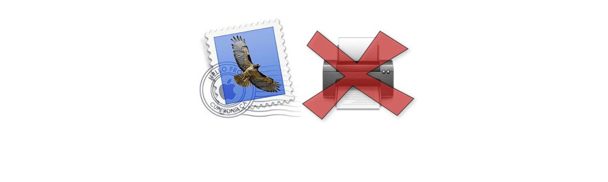 Apple Mail: Absturz beim Drucken unter OSX Mavericks