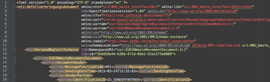 zedal-xml-dokument
